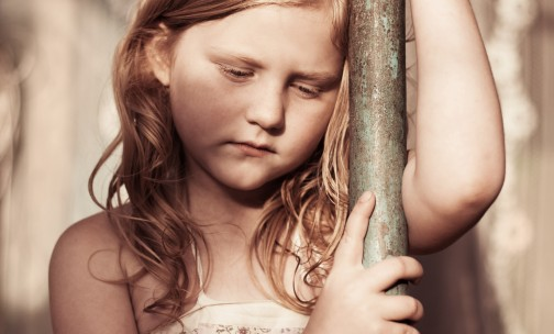 http://www.dreamstime.com/royalty-free-stock-photography-portrait-sad-child-outdoor-image35122917