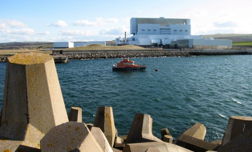 UK nuclear industry Torness power station