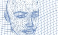 artificial intelligence concept head