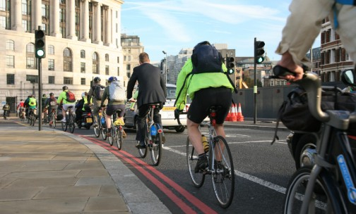 The government unveils plan to promote cycling and walking