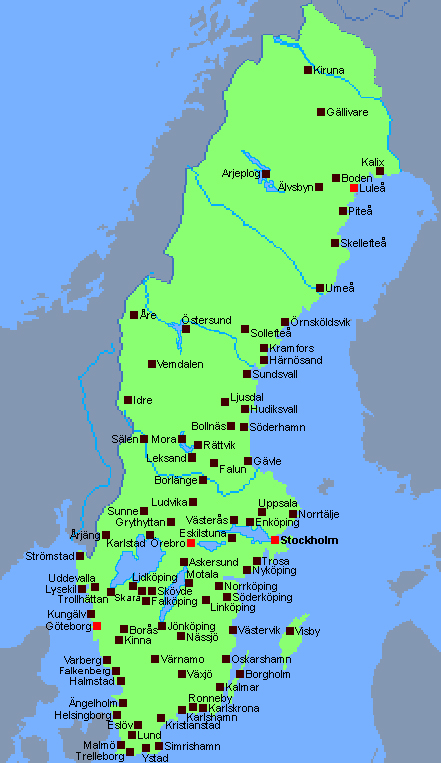SSEC is today working in almost 20 different places all over Sweden
